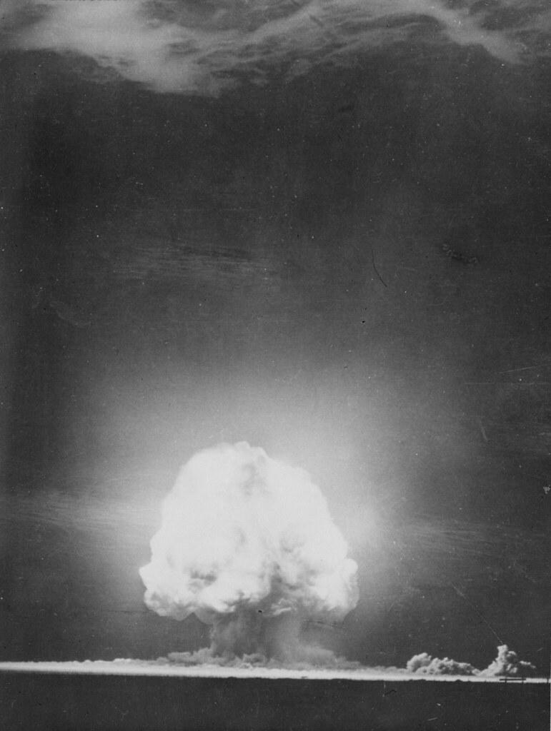 Trinity explosion - July 1945