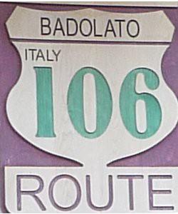 Badolato route106!!!