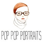 Pop Pop Portraits Ad