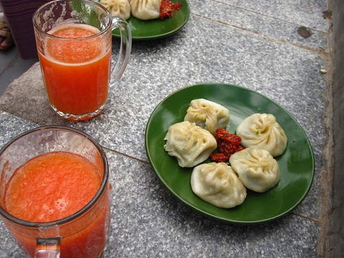 momos from VAST cafe