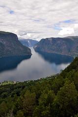 fjord view (aaberg) Tags: norway norge view norwegen fjord utsikt vestlandet sognogfjordane stegastein utkikkspunkt
