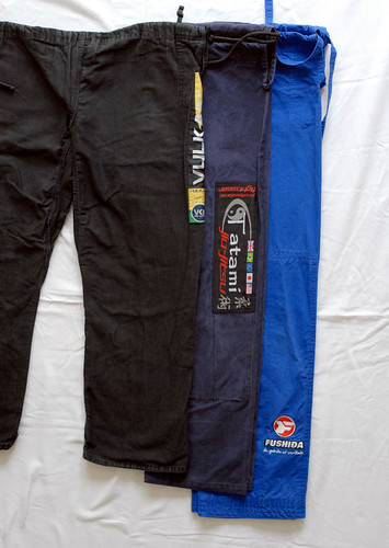 Trouser lengths compared
