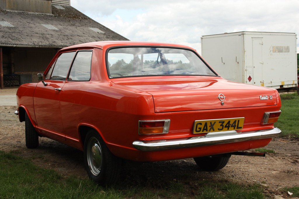 1972 Opel Kadett B 12