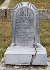 Civil War Vet's Zincer (Pak T) Tags: cemetery grave headstone veteran zinc keyes westford zd hillsidecemetery zuikodigital findagrave whitebronze zinker olympus1260mm