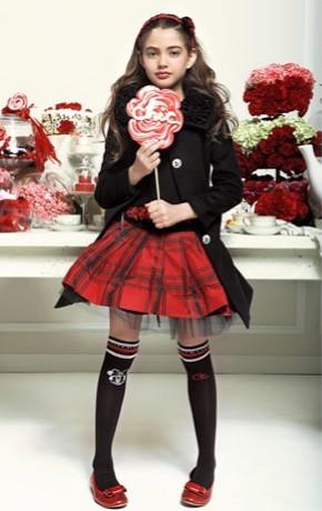 Moda infantil invierno 2010-2011, ropa para niñas de Monnalisa