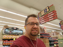 Day 7 - Errands (rbr_dux) Tags: selfportrait me myself groceryshopping grocerystore day7 365days