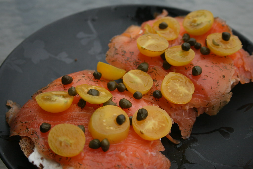 Gravlax with Heirlooms