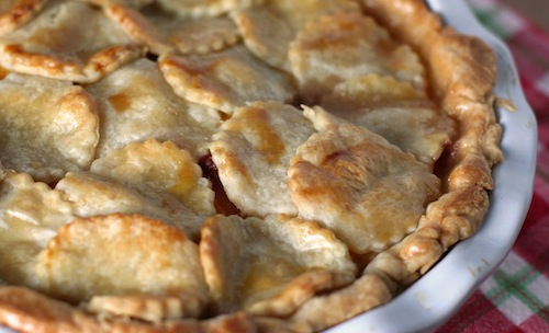 Peach Pie - Whole