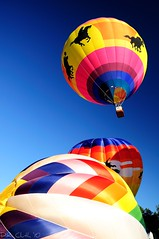 Into the Metamora sky (Explored) (Dennis Cluth) Tags: hotairballoonmetamora michigannikond90365