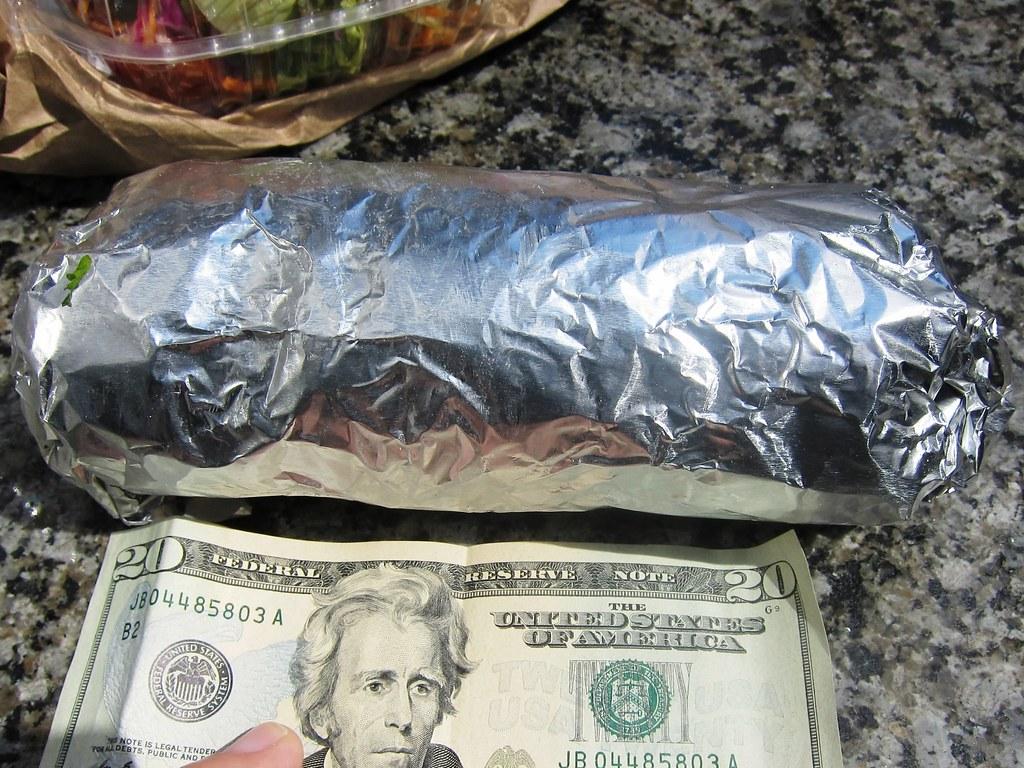 Burrito Size Compare