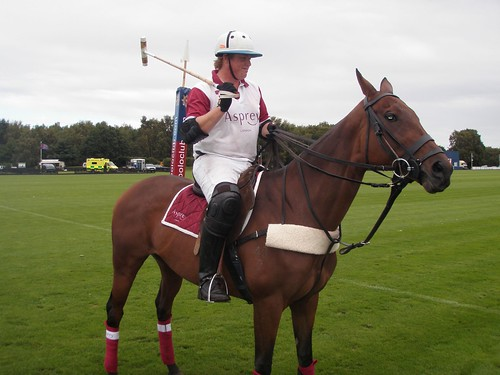 The MVP of the Polo match