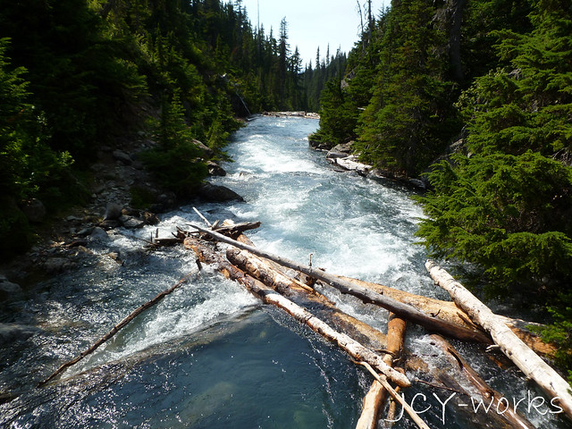 Fast-flowing rivers at Garibaldi