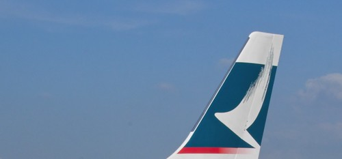 A330 Cathay Pacific tail