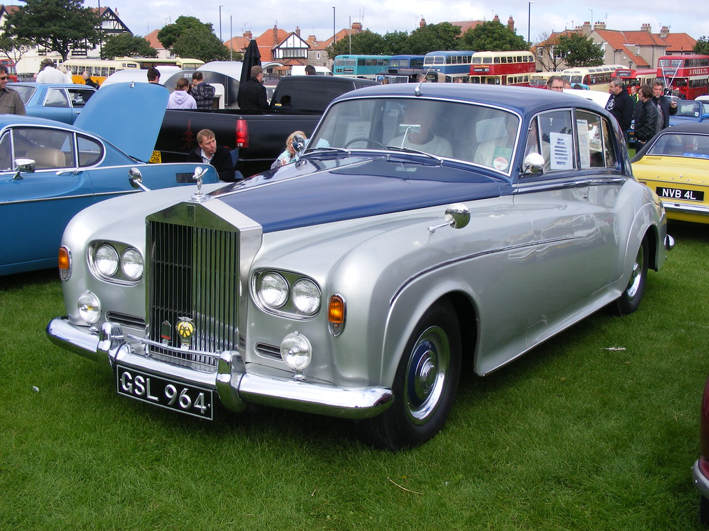 Rolls Royce Silver Cloud III GSL964 NEBPT Historic Vehicle Display Seaburn 2010