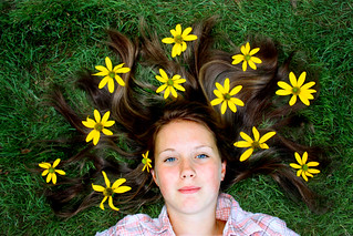 Flower Child ~ Published Book Cover
