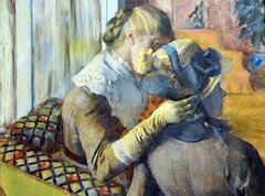 Edgar Degas - At the Milliner's at New York Metropolitan Art Museum (mbell1975) Tags: new york nyc usa ny art museum painting us gallery musee edgar impressionism degas metropolitan impressionist milliners at