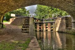 Cassiobury Lock (Richee Wilson) Tags: canal lock hdr cassioburypark canallock photomatix