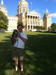 Steve @ The Iowa Capitol #2
