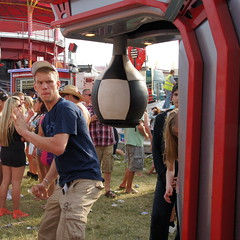 All the fun of the fair (CharlesFred) Tags: shirtless england surrey epsom thederby ladz workforce epsomdowns englishlads derby2010 workforcesderby shirtlesslads