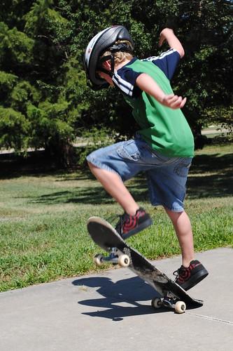 Skateboarder, take 2