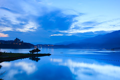 (samyaoo) Tags: lake reflection sunrise taiwan    sunmoonlake nantou     40d  samyaoo