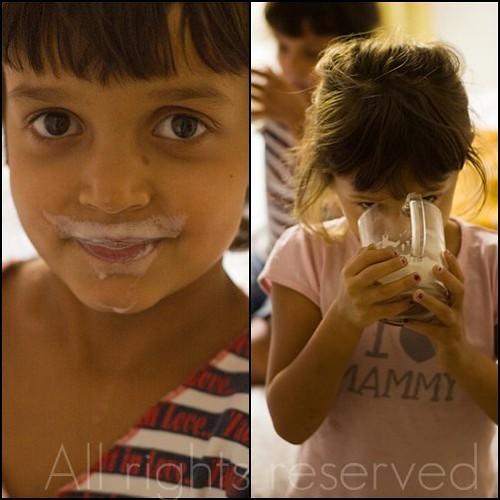 Baffi di latte