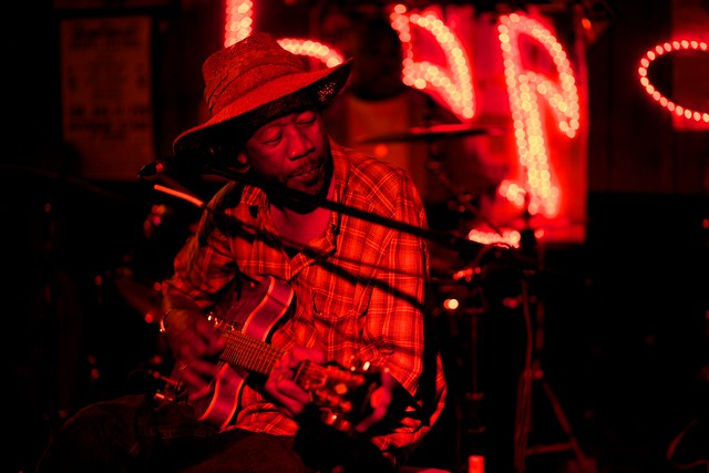RL Boyce at Red's Lounge, Clarksdale