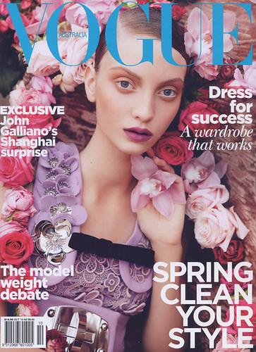 Vogue Australia October 2010