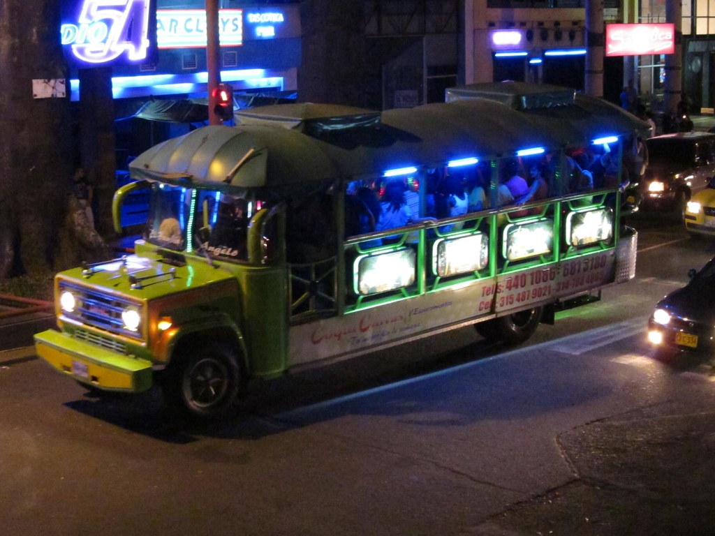 Chivas are a dance party on wheels. Buy a ticket, hop on, and you can start drinking and dancing as the bus rolls throughout Cali's most happening nightlife districts.