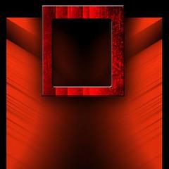 BucoNero - BlackHole (gibel49) Tags: red black window hole finestra buco rosso nero dart