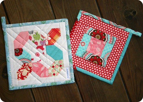 Potholders - set 1