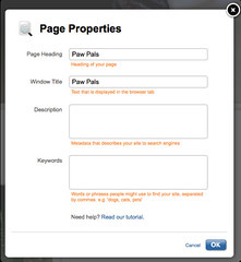 page-properties