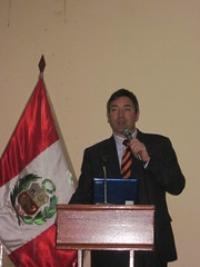 Sweethanol presentation at Conference in Piura, Peru - Dr. Oscar Lèon