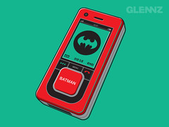 Bat Mobile (Glennz Tees) Tags: art nerd fashion illustration design funny geek drawing humor cartoon tshirt illustrator draw popculture tee vector ai apparel adobeillustrator glenz glennjones glenjones glennz gleenz glennnz