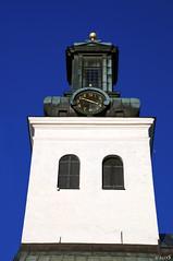 The Time Is Out Of Joint (StarlightHope) Tags: clock church ally frombelow churchtower lookingup dalarna kyrka klocka kyrktorn sderbrke sderbrkekyrka