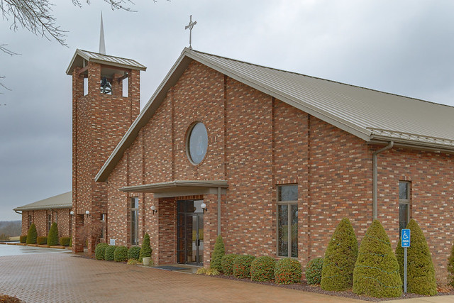 Our Lady of Victory Church, in Sereno, Missoui, USA - exterior