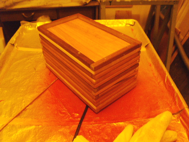 After 1st coat of polyurethane...