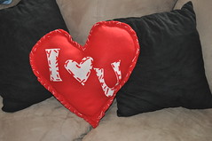 I (love) U Pillow - Finished!