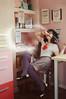 5/7 - No debo decir mentiras [serie Potter] (Lunayda) Tags: girl chair nikon wand magic harrypotter levitation minister umbridge d5000