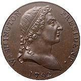 Washington Roman Head Cent obverse
