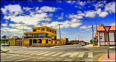 Mejillones - Hotel y Museo Avda. San Martn (Victorddt) Tags: chile sky clouds cielo nubes sonycybershot norte mejillones