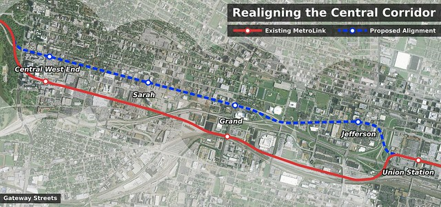 Realigning the Central Corridor