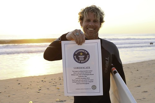 Billy Laity - Guinness: Longest Surf Session