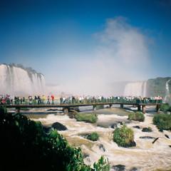 Brazil - Foz de Iguaçu (robinbenisri) Tags: minidiana diana film 35mm lomo lomography argentique travel experiments weird brazil iguazu iguaçu fozdeiguaçu