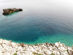 Mediterranean abstract (Francesco Pesciarelli) Tags: abstract tremiti italy italia gargano water clearwaters rocks island colors flickr pesha sea mediterraneo minimal azure blue teal life big downloadable mentionmyname varied collection thoughtful colours