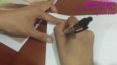 Dạy phun xăm Ely Vân - Hướng dẫn vẽ chân mày trên giấy cho người mới học (Day phun xam Ely Van) Tags: dạy phun xăm ely vân hướng dẫn vẽ chân mày trên giấy cho người mới học