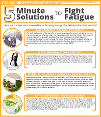 5 Minute Solutions to Fight Fatigue (vitarockshop) Tags: fight fatigue