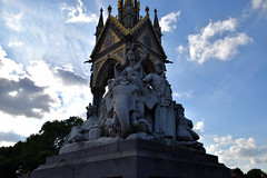 DSC_5185 (photographer695) Tags: hyde park london the albert memorial is situated kensington gardens commissioned by queen victoria memory her beloved husband prince who died typhoid 1861