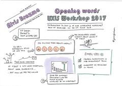Alvis Brazma - opening words day 2 UX for Life Science Workshop, June 2017