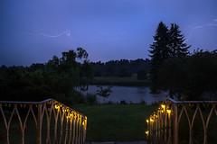 Lighting over the Lake (Jannik Peters) Tags: light lighting thunder long exposure sony fe zeiss loxia 21mm 21 28 lantern trees widow